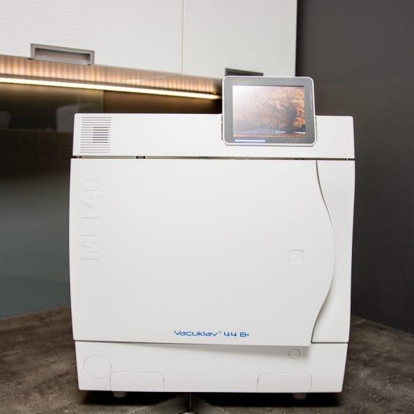 zdjęcie sterylizatora parowego vacuklav